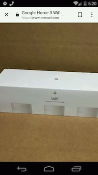 Google home wifi 3 pack new unopened Chalmette, 70043