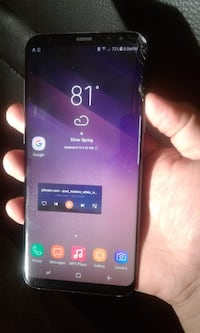 Samsung galaxy s8+ carrier locked, no pass codes Silver Spring, 20903