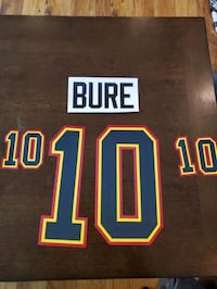 Pavel Bure name and number kit