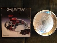 Silver plate Tray from International Silver Co. Baltimore, 21236