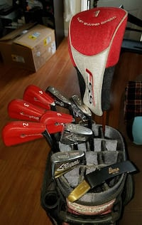 Carnegie Clark Complete Set Golf Clubs