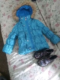 jacket and boots for girl