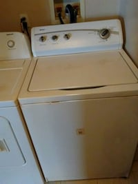 white top-load washer and dryer set Youngstown, 44509