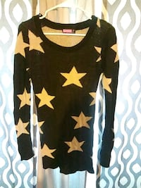 Black and tan sweater with stars Dallas, 75227