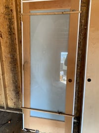 "32""x80"" Frosted Glass Door (left hand swing) Alexandria, 22308"