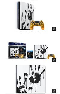 Playstation Pro - Limited Edition Death Stranding