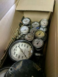 Several used guages for salvage or repair. Edmonton, T5T 5T6
