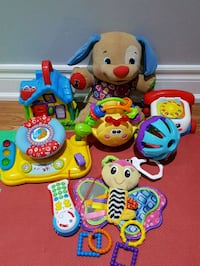 toddler's assorted toys Pickering, L1W 2M8
