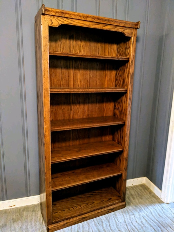Used Wood Bookcase Bookshelf For Sale In Richmond Letgo