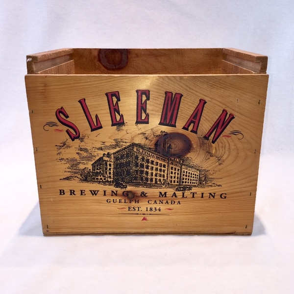 Wooden Sleeman Box