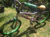 grey and green BMX bicycle Palmdale, 93550