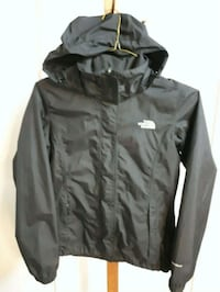 Black The North Face zip-up jacket Coquitlam, V3J