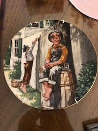 Collector plate Tom Sawyer Pickering, L1W 1W2