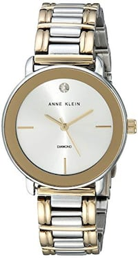 Anne Klein Women's Diamond-Accented Dial Two-Tone Bracelet Watch Richmond Hill, L4B 4T9