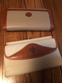 brown and white leather crossbody bag Lutherville Timonium, 21093