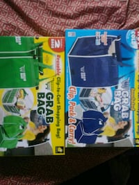 Grab bags three green and two blue brand new Baltimore, 21215