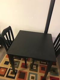Dining table 2 Chairs small