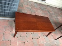 Rectangular brown wooden coffee table Bristow, 20136