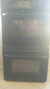 """GE 30"""" Black self-cleaning convection double oven  New Port Richey, 34653"""