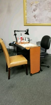Manicure table with Client and Tech Chair  Pittsburgh, 15226