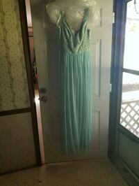 Mint green formal gown Chauvin, 70344