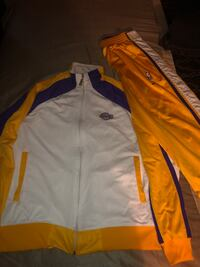 Lakers reversible sweater with sweats Compton, 90221