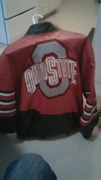Ohio State Buckeyes leather jacket  medium
