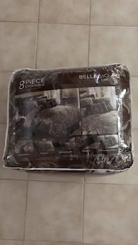 New - 8 piece King bedding set + one free pillow. Avenel, 07001