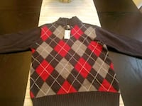 BRAND NEW. Size 7/8 Argyle Sweater 52 km