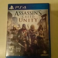 Assassin's Creed Unity PS4 game  Round Lake Beach, 60073