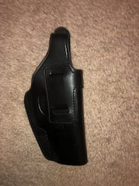 Cebeci Arms Black Leather Holster (iwb and owb) for Glock 20/21 Woodbridge, 22191