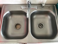 Stainless steel sink with faucet Richmond, 77469