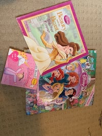 3 princess books  Edmonton, T6T 2A5