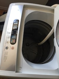 white and black front-load clothes washer Toronto, M6A 2Y4
