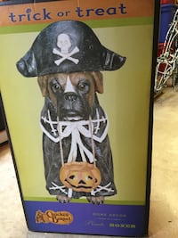 Halloween Pirate Boxer Decoration