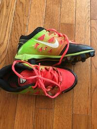 Nike cleats, Size 2