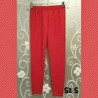 WOMENS RED LEGGINGS SIZE S  Ontario, 91762
