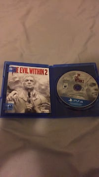 The evil within 2 (ps4) Mississauga, L5M 6R7