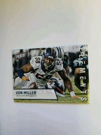 Von Miller 2010 Panini Element 15/50 Thick Card #8 Arvada, 80007