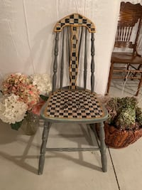 Newly Painted MacKenzie Childs Inspired Antique Chair Rochester, 14626