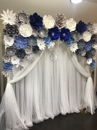 Photo Backdrop (bridal shower/baby shower/birthday/anniversary) Vaughan
