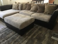 Sectional Sofa With Ottoman and Chair San Diego, 92108