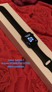 Apple Watch - Series 1 - 42mm - Stainless steel Abbotsford, V2T 6S2
