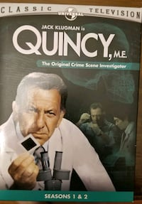 Quincy season 1 and 2 DVDs Lock Haven, 17745