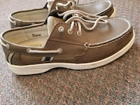 G.H. BASS boaters/top siders size 10