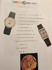 Wrist Watches collectible book Toronto, M8Y 1N7