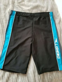 black and blue Adidas track pants Toronto, M2M 4B9