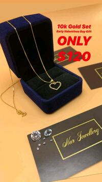 """10k real gold 20"""" chain with pendant  Toronto, M1K 1N8"""