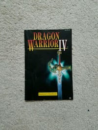 Dragon Warrior IV Manual and Monster Chart Fairfax, 22033