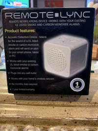 Fire alarm CO Remote Notification device for iPhone or Samsung . Brand new in box Mc Lean, 22101